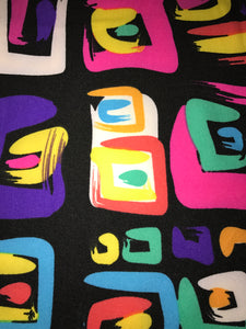 Leggings New With Tags Vivid Multi Color Buttery Soft One Size Fits 0-14