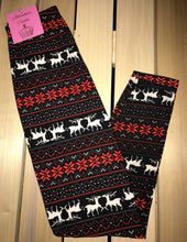 Leggings New With Tags Fair Isle Holiday Buttery Soft One Size Fits 0-14