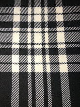 Leggings New With Tags Black White Plaid Buttery Soft One Size Fits 0-14