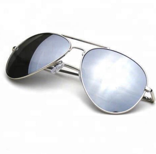 Chrome Aviator Unisex Sunglasses