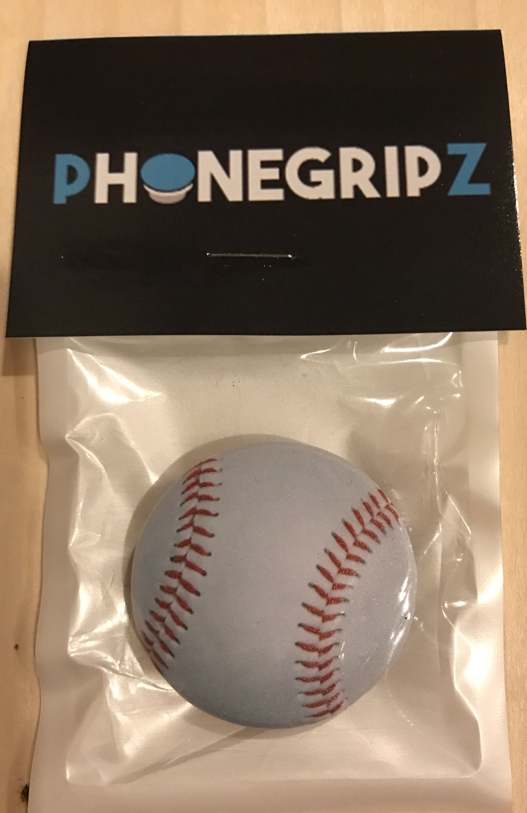 Baseball Universal Phone Grip Pop Out PhoneGripz