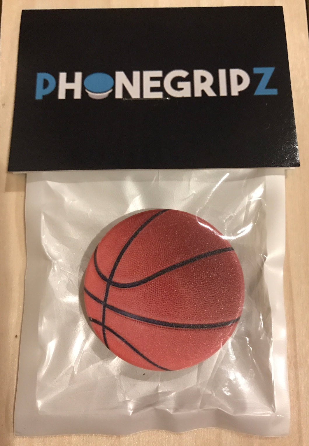 Basketball Universal Phone Grip Pop Out PhoneGripz