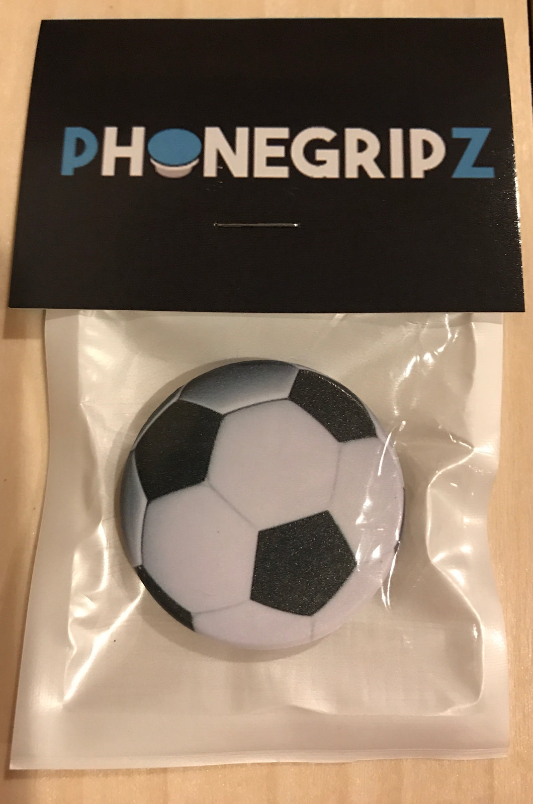 Soccer Universal Phone Grip Pop Out PhoneGripz