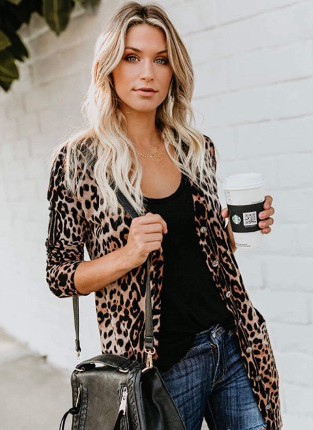 Animal Print Jacket Topper Cover Up