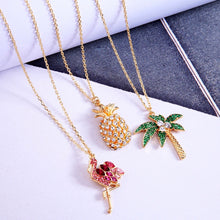 Luxe Pineapple Necklace Gold Plated