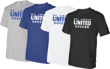 Load image into Gallery viewer, United Performance T-shirt - Traditional Logo (Adult, Ladies and Youth)