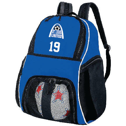 United Back-pack with team number
