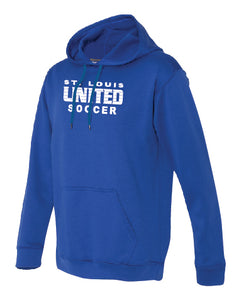 Traditional United Logo Performance Hoodie ADULT, LADIES and YOUTH