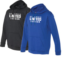 Load image into Gallery viewer, Traditional United Logo Performance Hoodie ADULT, LADIES and YOUTH