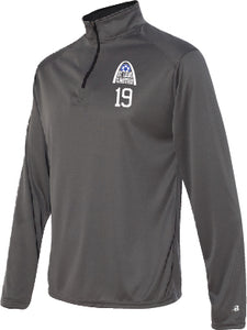 United Badger 1/4 zip Performance Pullover (Adult and Ladies Sizes)