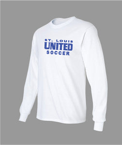 United Long Sleeve T-Shirt - Traditional Logo (ADULT)