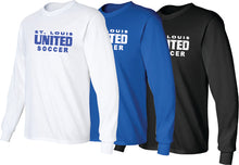 Load image into Gallery viewer, United Long Sleeve T-Shirt - Traditional Logo (ADULT)