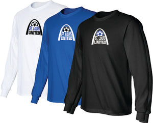 United Long Sleeve T-Shirt - Arch Logo