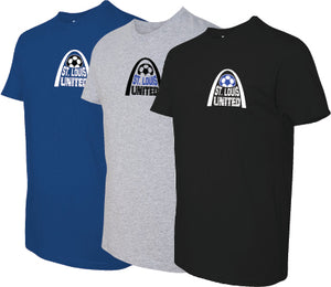 United Premium Crew Neck T-shirt - Arch Logo - Ladies