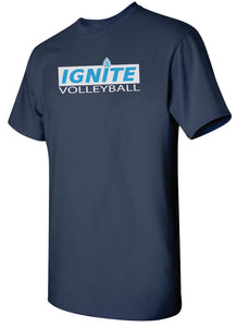 Ignite T-Shirt Boxed Logo (Adult and Youth)