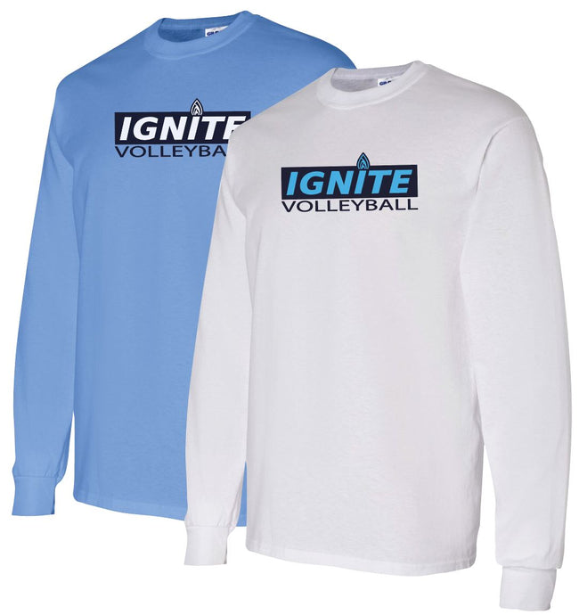 Ignite Long Sleeve Tshirt Block Logo (ADULT)