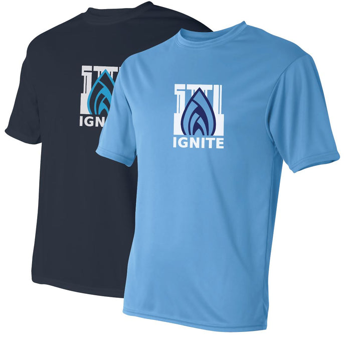 Ignite Performance T-Shirt Flame Logo (ADULT)