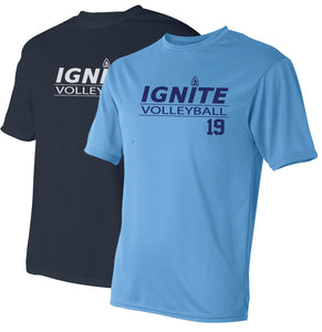 Ignite Performance T-Shirt with Number (ADULT)