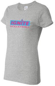 Ignite T-Shirt Block Logo-Ladies