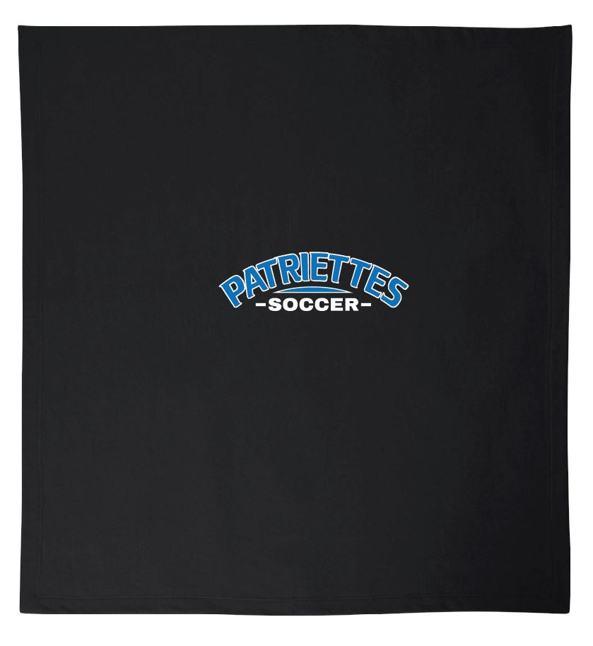 Patriettes Soccer Logo - Stadium Fleece Blanket (ONE SIZE)