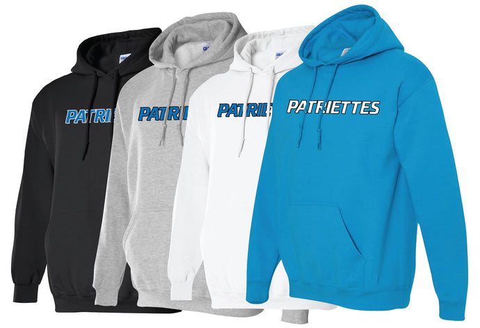 Patriettes Standard Logo - Standard Hoodie - Cotton Blend (ADULT)