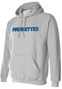 Patriettes Standard Logo - Standard Hoodie - Cotton Blend (ADULT and YOUTH)