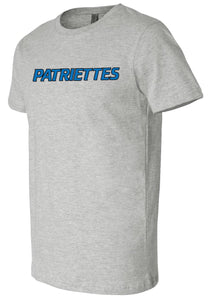 Patriettes Standard Logo - Premium T-Shirt - 100% Ringspun Cotton (ADULT and YOUTH)