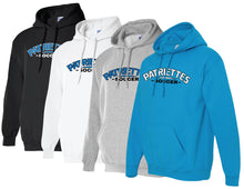 Load image into Gallery viewer, Patriettes Soccer Logo - Standard Hoodie - Cotton Blend (ADULT and YOUTH)