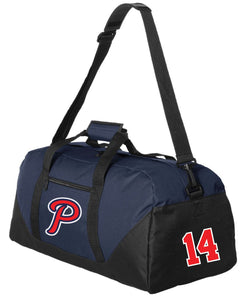 "Patriots ""P"" Logo - Duffel Bag (ONE SIZE)"