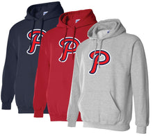 "Load image into Gallery viewer, Patriots ""P"" Logo - Standard Hoodie - Cotton Blend (ADULT and YOUTH)"