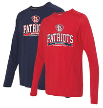 Load image into Gallery viewer, Gildan - Tech Performance Long Sleeve T-Shirt ADULT-STL Patriots