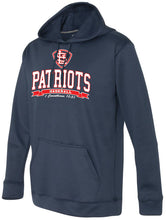 Load image into Gallery viewer, Patriots STL Logo - Performance Hoodie Sweatshirt - 100% Poly (ADULT and YOUTH)