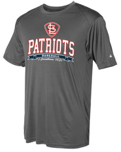 Load image into Gallery viewer, Patriots STL Logo - Badger Softlock Tee- 100% Performance Poly (ADULT and YOUTH)