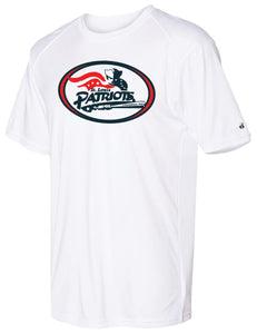 Badger - Ultimate SoftLock Tee (ADULT and YOUTH) - Traditional Patriots Logo