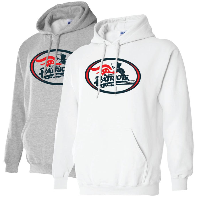 Patriots Traditional Hoodie ADULT and YOUTH- Spirit-wear