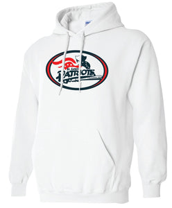 Patriots Traditional Logo - Standard Hoodie - Cotton Blend (ADULT and YOUTH)