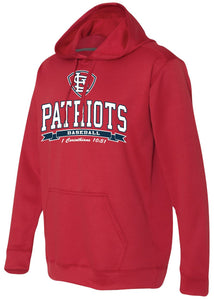 Patriots STL Logo - Performance Hoodie Sweatshirt - 100% Poly (ADULT and YOUTH)