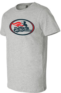 Patriots Traditional Logo - Premium T-Shirt - 100% Ringspun Cotton (ADULT and YOUTH)