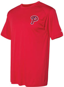 "Badger - Performance Tee (ADULT and YOUTH) - ""P"" Logo"