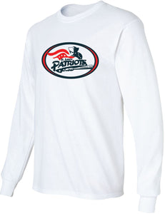 Patriots Traditional Logo - Standard Long Sleeve T-Shirt – 100% Cotton (ADULT and YOUTH)