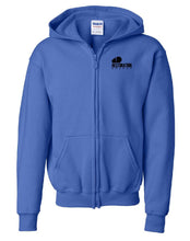 Load image into Gallery viewer, RC - Full Zip Hoodie - Cotton Blend (YOUTH)