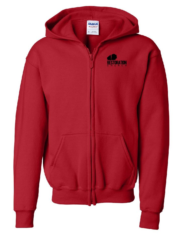 RC - Full Zip Hoodie - Cotton Blend (YOUTH)