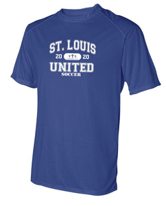 United Performance T-shirt - Collegiate Logo (Adult, Ladies and Youth)