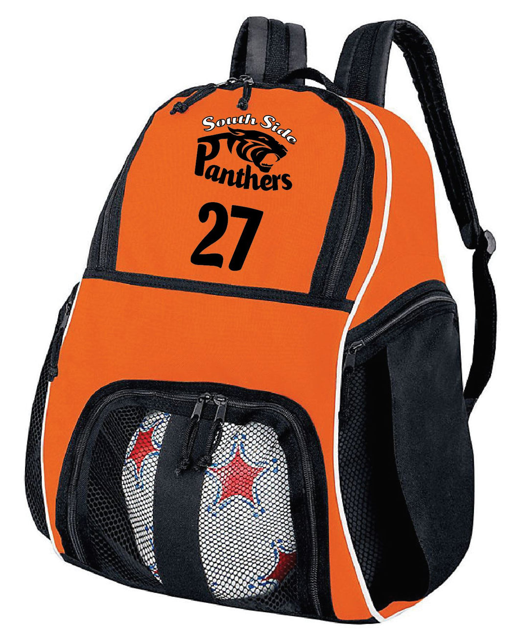 Panthers Back-pack with team number