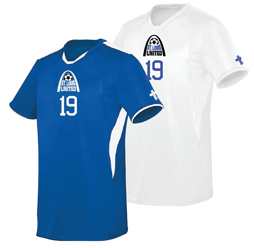 Jersey Set (1 royal; 1 white)