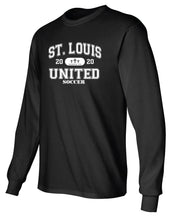 Load image into Gallery viewer, United Long Sleeve T-Shirt - Collegiate Logo