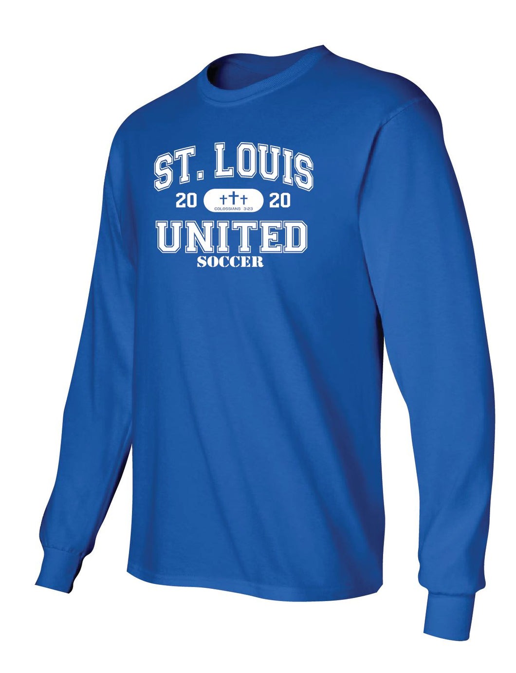 United Long Sleeve T-Shirt - Collegiate Logo