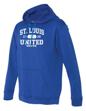 Load image into Gallery viewer, Collegiate Untied Logo Performance Hoodie ADULT, LADIES and YOUTH
