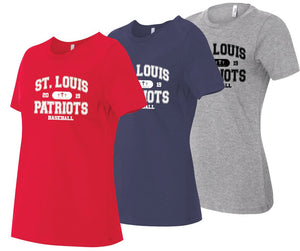 T-Shirt -Ladies Collegiate