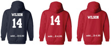 Load image into Gallery viewer, Collegiate Hoodie ADULT and YOUTH- Spirit-wear